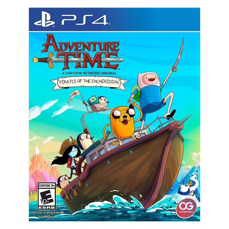 Sony - Adventure Time Pirates Of The Enchiridion (PS4)