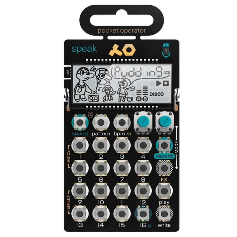 TEENAGE ENGINEERING - Te Pocket Operator Po-35 Speak