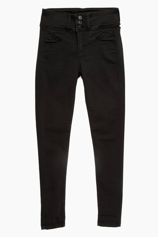 Mossimo - Jeans de Algodón Skinny Fit Mujer