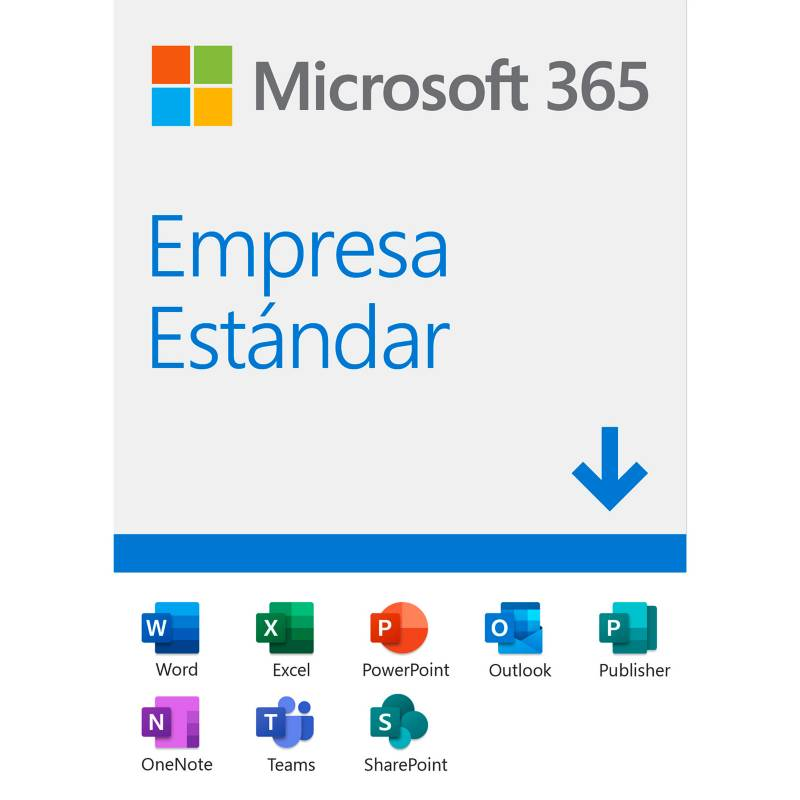 Microsoft - Microsoft 365 Empresa Estándar (Software Descargable)