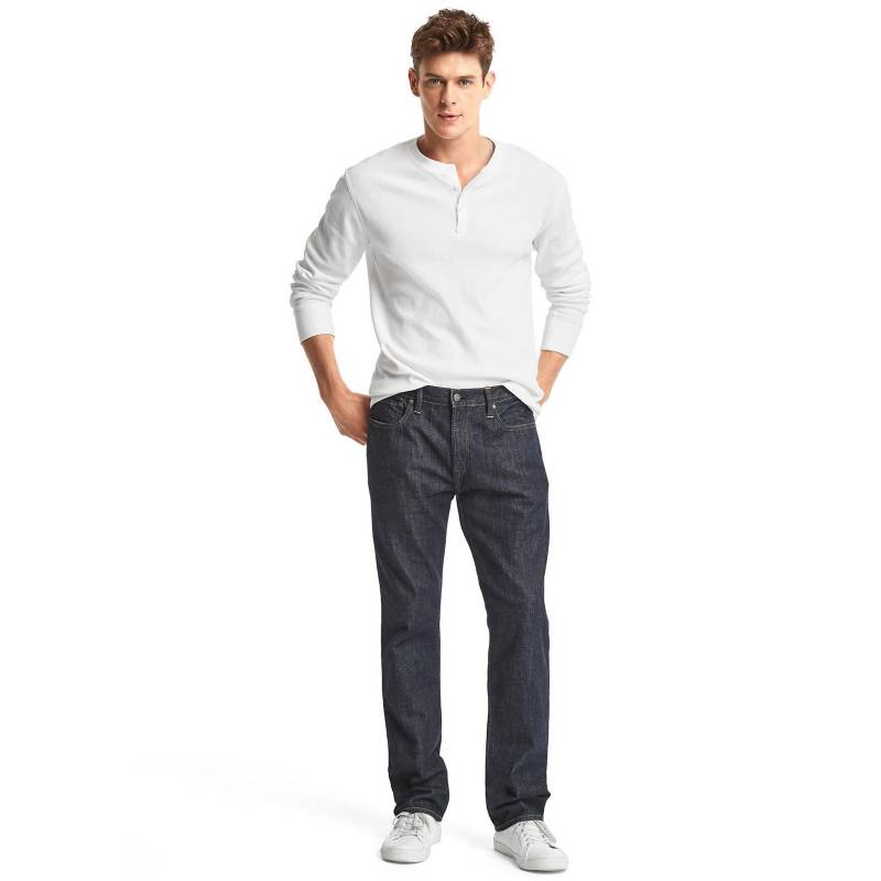 Gap - Jeans Straight Fit Hombre