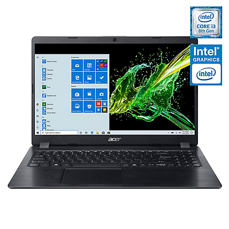 Notebook Intel Core i3 4GB RAM + 16GB Intel Optane 15.6
