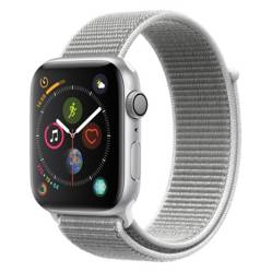 Apple - Apple Watch S4 44mm Sil/Whi