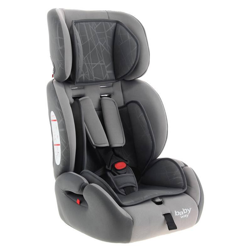 BABY WAY - Silla de Auto Butaca Ajustable BW-749G19