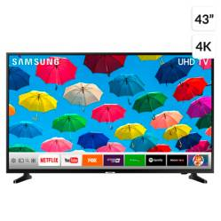 "LED SAMSUNG 43"" NU7090 UHD 4K Smart TV"