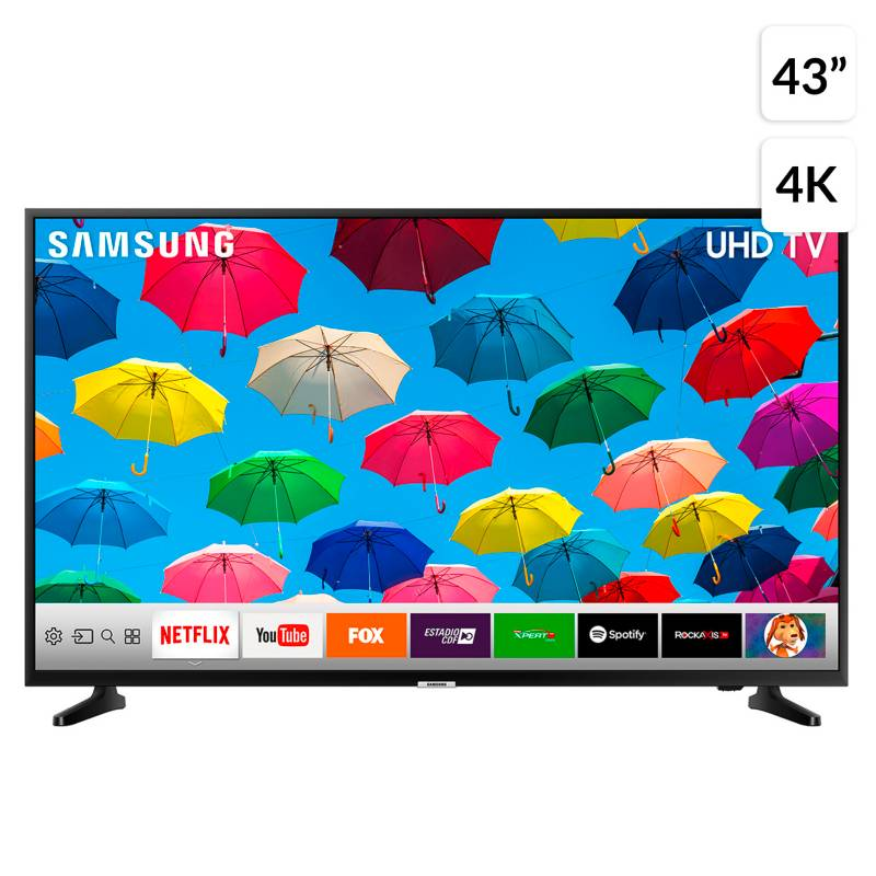 "Samsung - LED SAMSUNG 43"" NU7090 UHD 4K Smart TV"