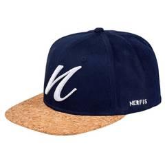 Nerfis - Gorro Snapback Nerfis Corcho Azul