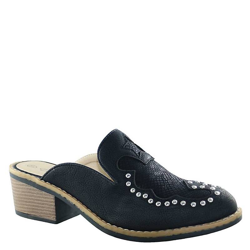 Vaquera Mujer Dinastella Negro Shoes Babucha ZuOkiPX