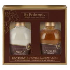 Be Feelosophy - Prom. Body Lotion 250 ML + Shower Gel 250 ML Argán