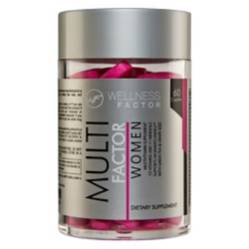 WELLNESS FACTOR - Multi Factor Woman 60 Caps.