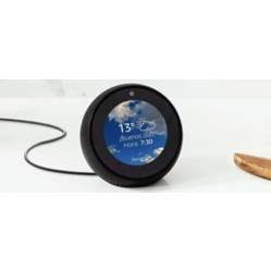 Alarma y Reloj Inteligente Echo Spot Negro