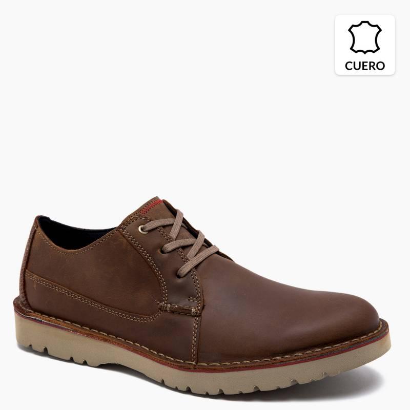 Bastante Merecer Punto muerto  Clarks Zapato Casual de Cuero Hombre - Falabella.com