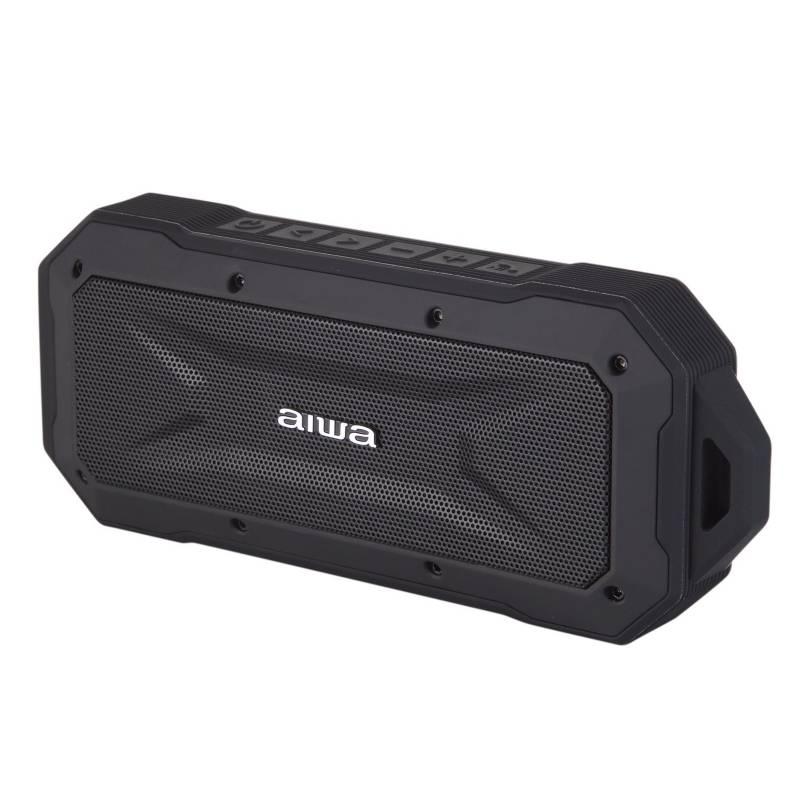 Aiwa - Aiwa Parlante Portátil Bluetooth Impermeable X Black.
