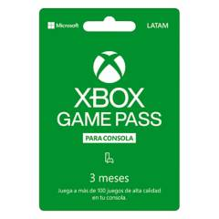 Microsoft - Xbox Game Pass 3 Meses: Código Digital