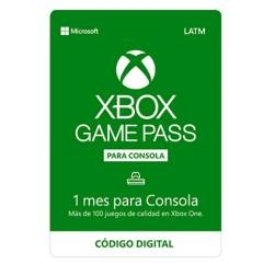 Microsoft - Xbox Game Pass 1 Mes