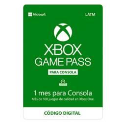 Microsoft - Xbox Game Pass 1 Mes