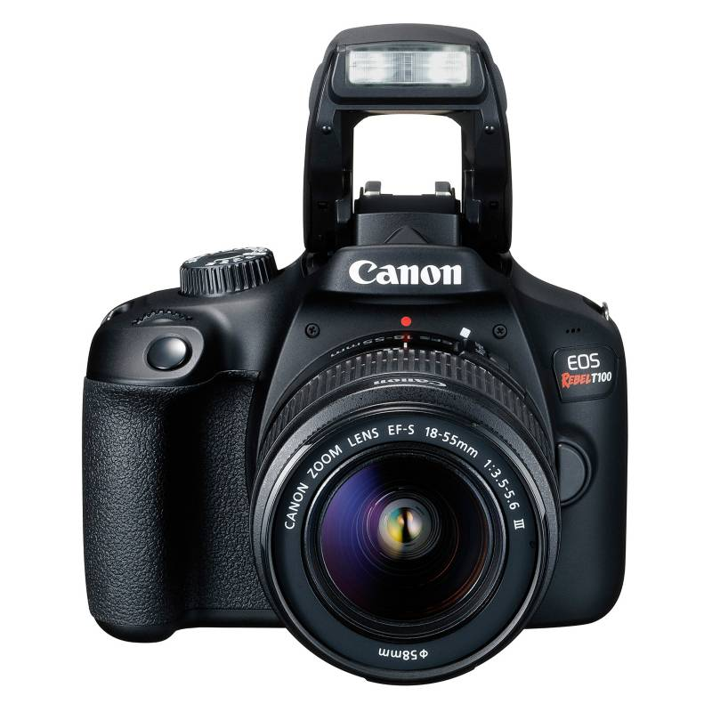 CANON - Cámara Reflex T100 + Lente 18-55