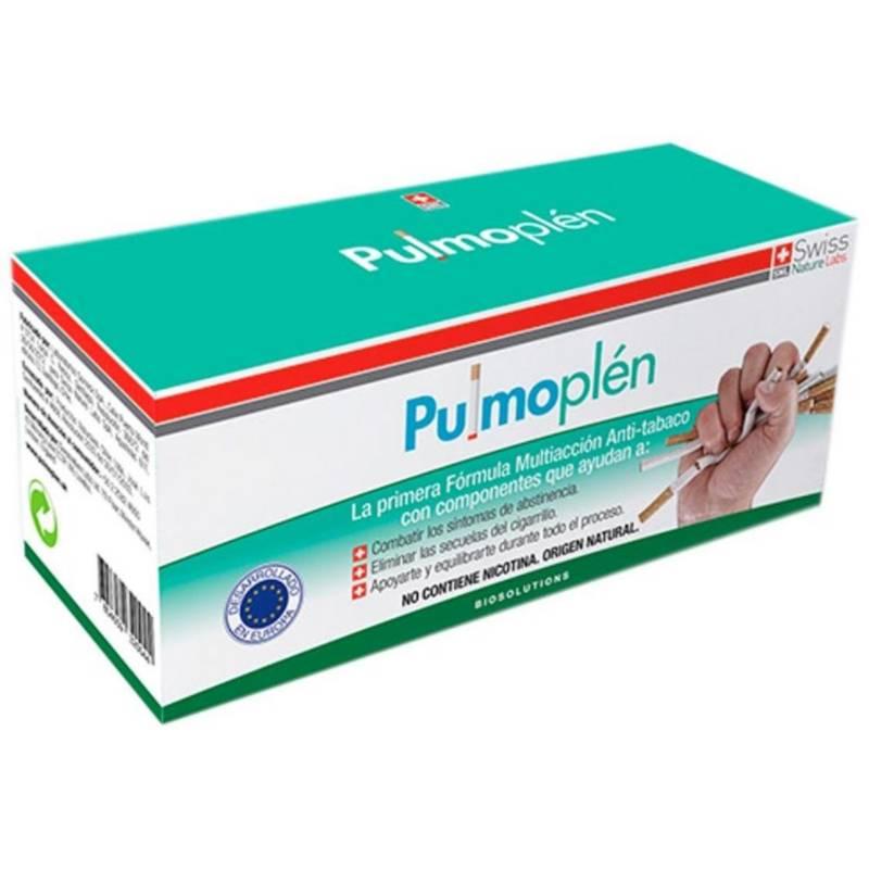 SWISS NATURE LABS - Pulmoplen 30 Dias - Tratamiento Antitabaco