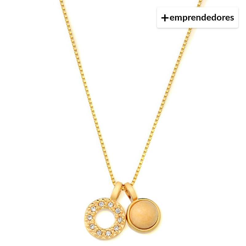 3a8df345d8b4 Vanité Collar Amazonita Oro Laminado - Falabella.com
