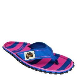 Sandalia Mujer Canvas Pink & Blue Stripe W