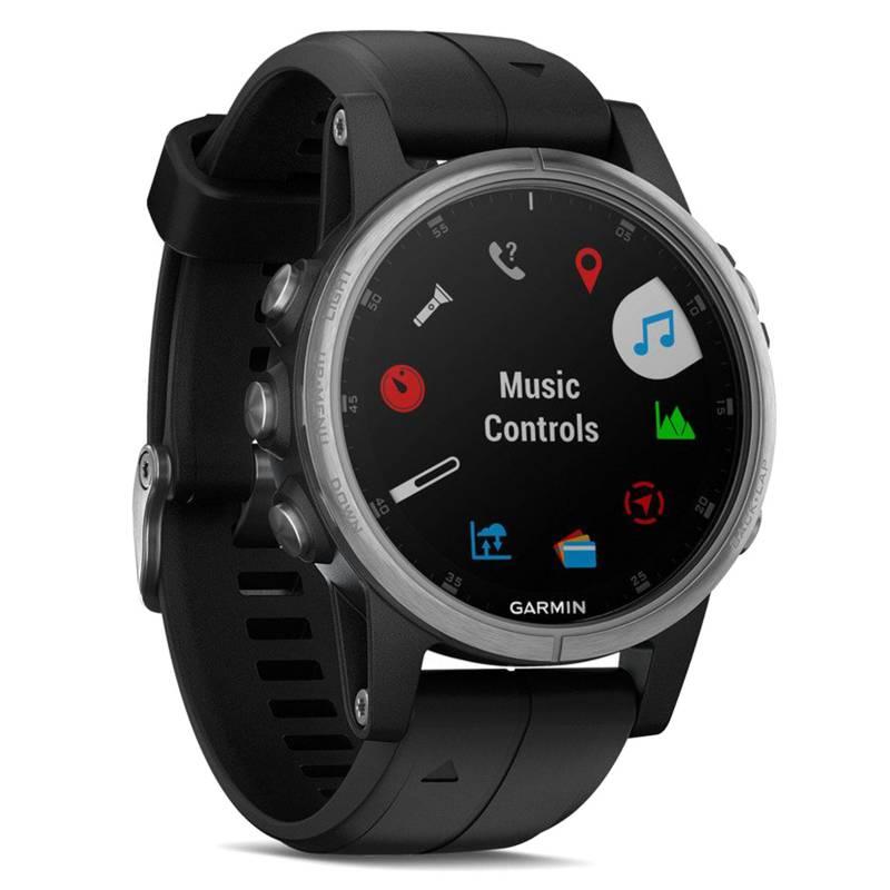 Garmin - Smartwatch Fenix 5S Plus Negro