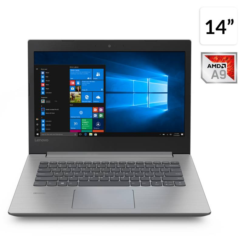 Lenovo - Notebook Ideapad 330 AMD A9 8GB RAM-1TB HDD 14""