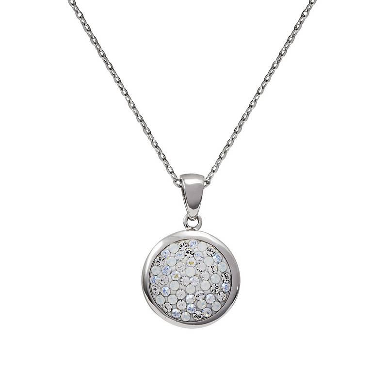 aa946f7b2555 Krystalia Collar Creado con Cristales Swarovski Moonlight ...