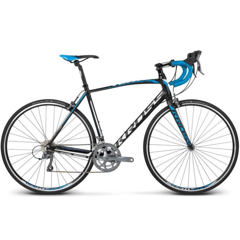 KROSS - Bicicleta Kross Vento 2.0 Md Blk/Blue/Wht Matte