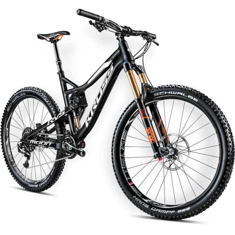 KROSS - Bicicleta Kross Moon 3.0 Md Negro/Blanco Matte