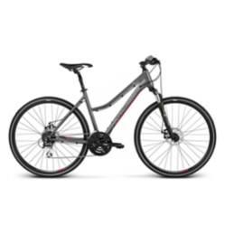 KROSS - Bicicleta Kross Evado 1 Dm Grafito /Raspberry Mate