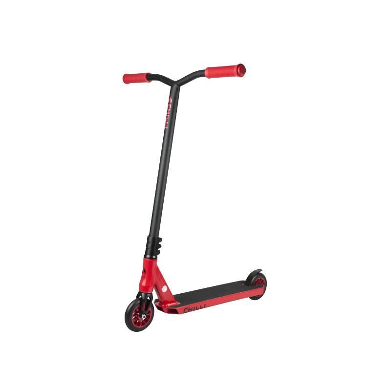 CHILLI - Scooter Reaper Fire Negro/Rojo