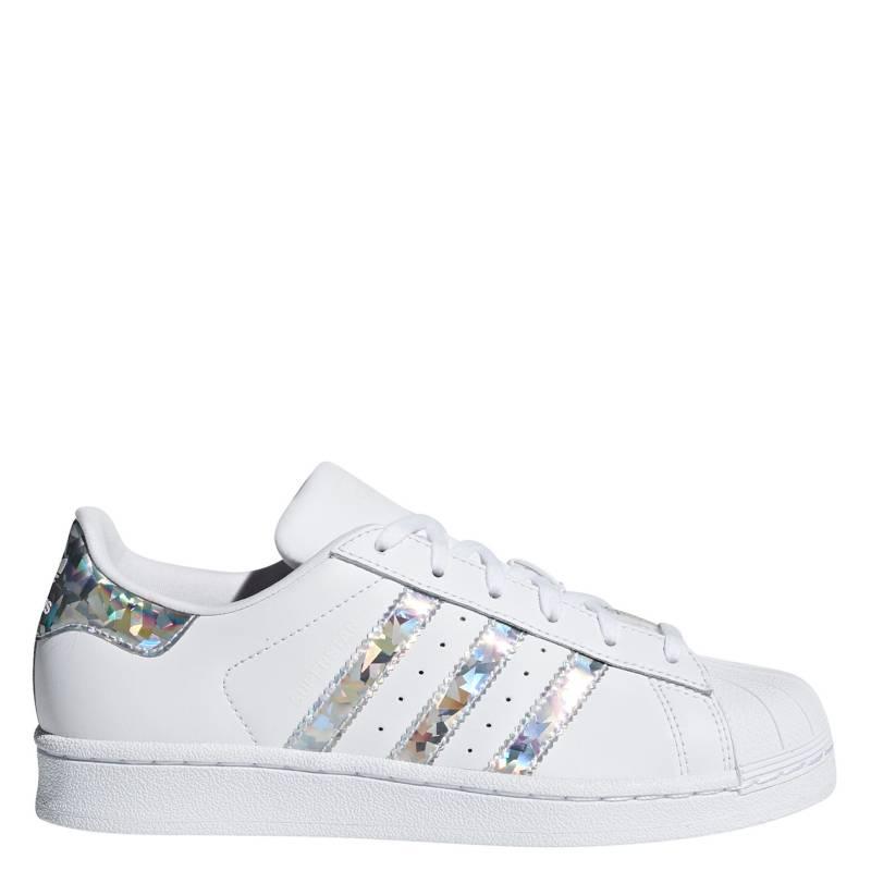 Adidas - Superstar J Zapatilla Urbana Niña Blanca