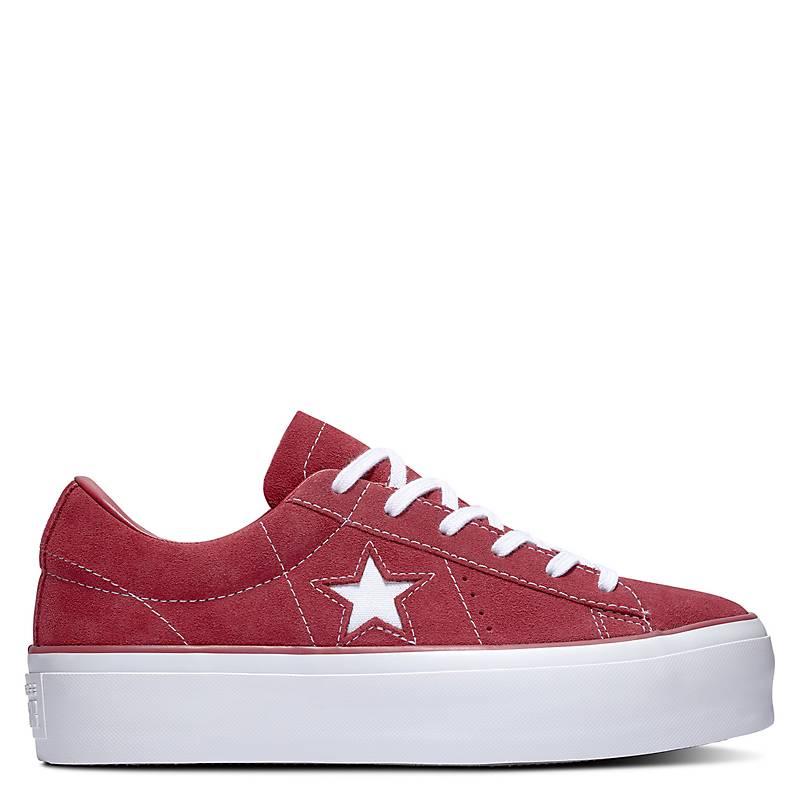 converse one star platform mujer