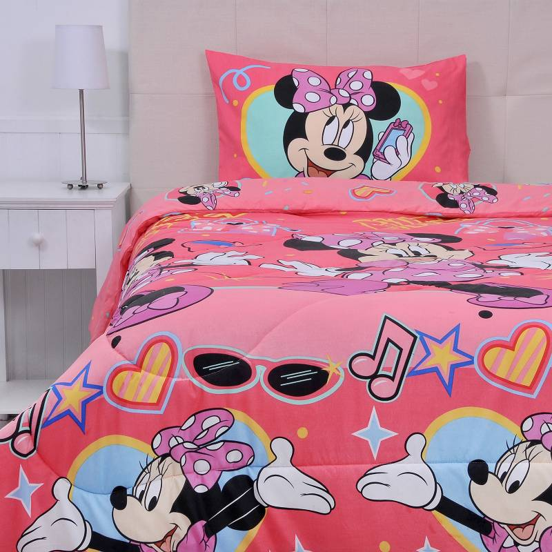 Disney - Plumon 200 g Minnie Sweet 1.5 Plazas