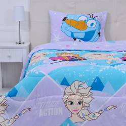 Frozen - Plumón Rell 200 g Princess 1.5 Plazas