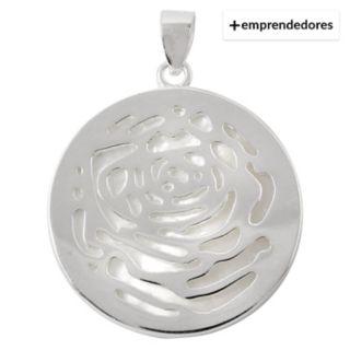 aa224fe85a1d Diplata Colgante Circular Labrado En Corazones Plata 925 - Falabella.com