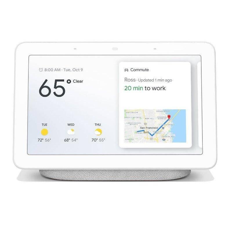 Google - Home Hub Gris con Asistente de Voz