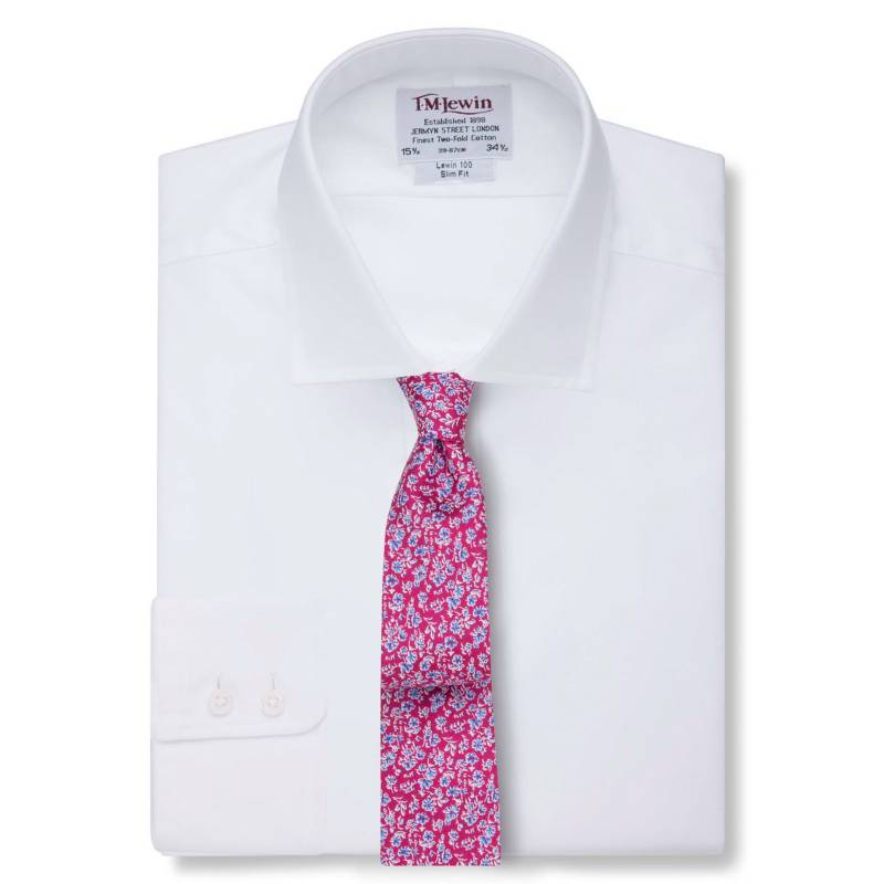 TM LEWIN - Camisa Slim Fit Easy to Iron