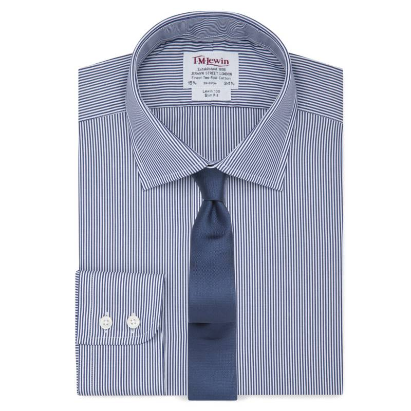 TM LEWIN - Camisa Slim Fit Easy to Iron