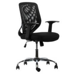 FORM OFFICE - Silla escritorio Operativa Bend Br. Fijo Negro