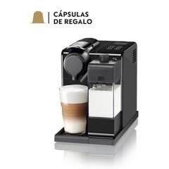 Nespresso - Cafetera Lattissima Touch F521 Negra