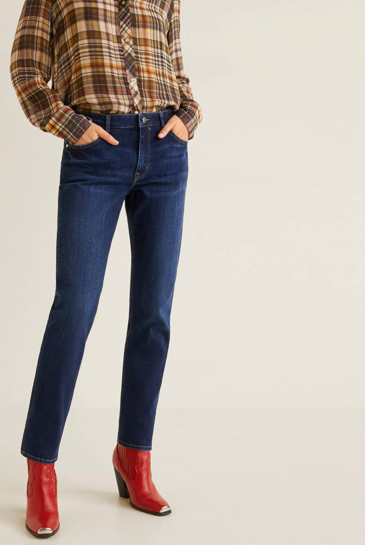 Mango - Jeans de Algodón Skinny Fit Mujer