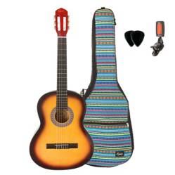 Pack Guitarra Clásica Sun + Bolso