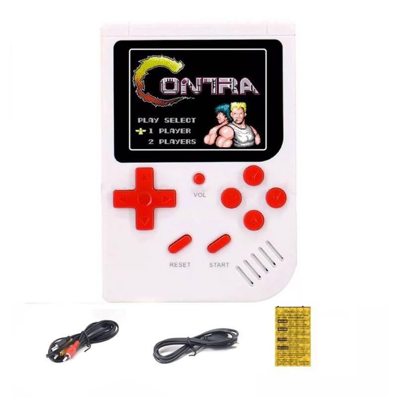Intcomex - Mini Consola Retro 188 Juegos En 1 2,5 Pulgadas