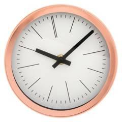 VGO - Reloj de Pared 15 cm Metal