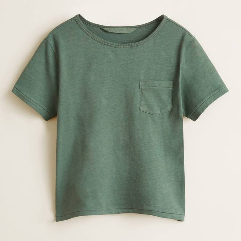 Mango Kids - Camiseta Algodón Niño