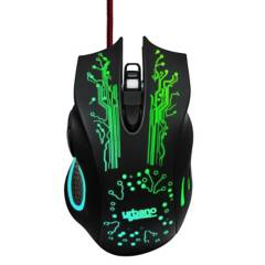 Urbano Design - Urbano Mouse Gamer GM055 Negro