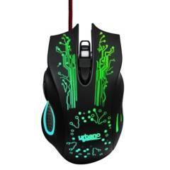 URBANO DESIGN - Mouse Gamer Luces