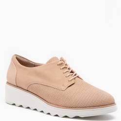 Clarks - Zapato Casual Mujer Beige