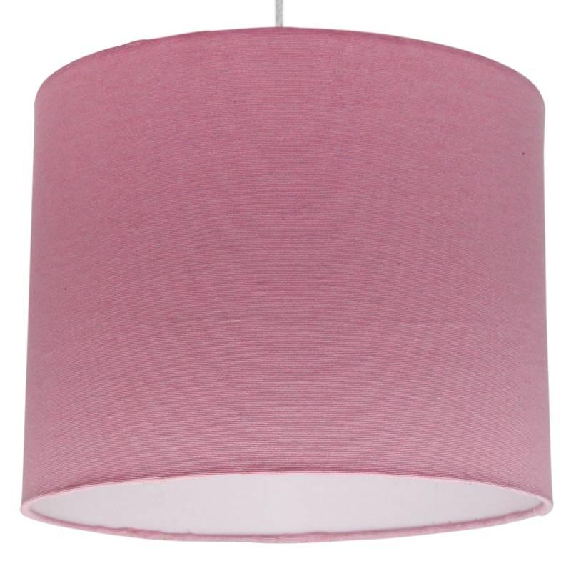 LIGHTME - Lámpara De Colgar Rosada Lisa 25 X 20 Cm